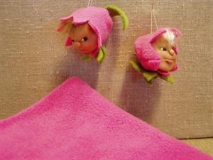 Billede af Færdigsyet forårsblomst pink