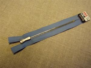Billede af Lyseblå lynlås 12 cm.