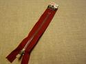 Billede af Rustfarvet lynlås 20 cm