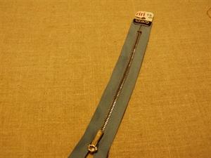 Billede af Grå lynlås 18 cm