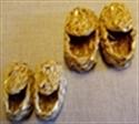 Billede af Sivsko til små nisser 5 cm.